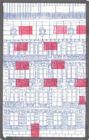 Hôtel Barriere - Francois // papier carbone & tampon